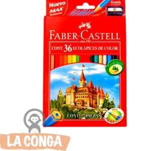 LAPICES FABER-CASTELL x 36
