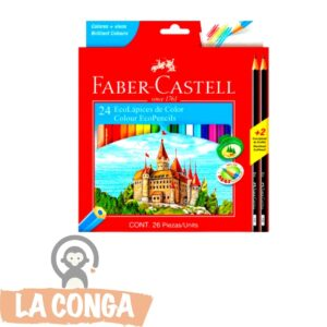LAPICES FABER-CASTELL x 24