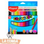 LAPICES MAPED x 48