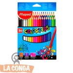 LAPICES MAPED x 36