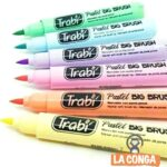 BIG BRUSH PASTEL TRABI